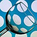Polka Dot Glass by Steve Purnell