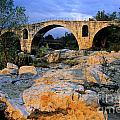 Pont Julien. Luberon. Provence. France. Europe by Bernard Jaubert