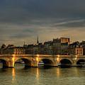 Pont Neuf  At Sunset, Paris, France by Avi Morag photography