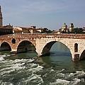 Ponte Pietra by Pat Purdy