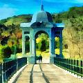 Ponte Sul Lago Di Giacopiane by Enrico Pelos