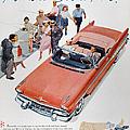 Pontiac Advertisement 1957 by Granger