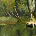 Pontoon Pond by Margaret Alder