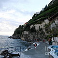 Pool In The Amalfi Santa Caterina Hotel by Tanya  Searcy