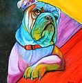 Pop Art Bulldog by Meg Keeling