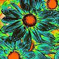 Pop Art Daisies 17 by Amy Vangsgard