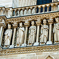 Popes At Notre Dame Cathedral by Jon Berghoff