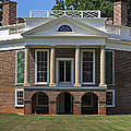 Poplar Forest From The South Lawn by Teresa Mucha