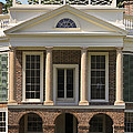 Poplar Forest South Portico by Teresa Mucha