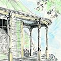 Porch Time by Lizi Beard-Ward