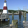 Port Jefferson Harbor by Donna Frasca