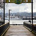 Port Of Newport by Athena Mckinzie