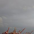 Port Of Seattle, Elliot Bay, Seattle, Washington by Paul Edmondson