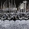 Port Vell Barcelona by Bogdan Ivan