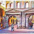 Porta Borsari Verona  First Century Ad Roman Gate by Dai Wynn