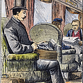 Portable Typewriter, 1889 by Granger
