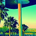 Porte Cochere Palm Springs by Randall Weidner