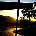 Porte Cochere Sunset by Randall Weidner