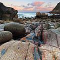 Porth Nanven Sunrise by Richard Thomas