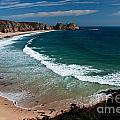 Porthcurnow Beach by Rob Hawkins