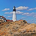 Portland Head Lighthouse by Dale J Martin