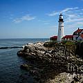 Portland Head Lighthouse by Heather Applegate