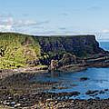 Portnaboe Bay At Giants Causeway by Semmick Photo