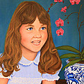Portrail Of A Young Girl by Jim Ziemer