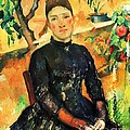 Portrait Madame Cezanne by Pg Reproductions