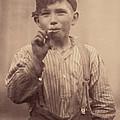 Portrait Of A Boy Smoking, Original by Everett