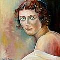 Portrait Of A Lady by Carole Spandau
