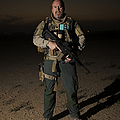 Portrait Of A U.s. Contractor by Terry Moore