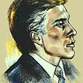 Portrait Of An Actor by Elinor Mavor