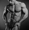 Portrait Of An Athlete by Albert Smirnov