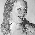portrait of Angela by Alfie Frohman