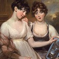 Portrait Of Anne And Maria Russell by John Russell