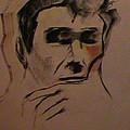 Portrait Of Frank Frazetta by George Pedro