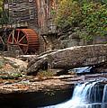 Portrait Of Glade Creek Mill by Randall Branham
