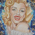 Portrait Of Marilyn Monroe by Agnes V
