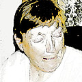 Portrait Of Tears 2 by Lenore Senior