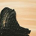 Portrait Variation In Beige - Willhelm Tell by Antonio Wehrli