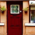 Portugal Red Door by Darleen Stry