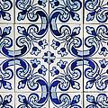 Portuguese Azulejo by Gaspar Avila
