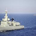 Portuguese Navy Frigate Nrp Bartolomeu by Stocktrek Images