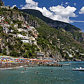 Positano Seaside by Sally Weigand