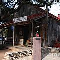 Post Office In Luckenbach Texas by Susanne Van Hulst