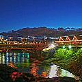 Post St Bridge by Dan Quam