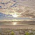 Post-tourist Sunrise Ocean City by Jim Moore