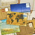 Postcard And Old Papers by Setsiri Silapasuwanchai