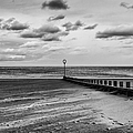 Potobello Beach And Drifting Sands by John Farnan